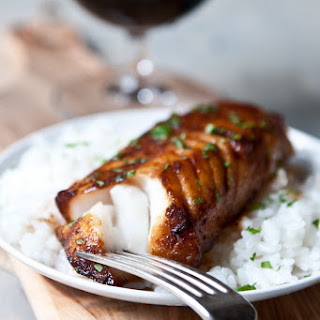Honey Porter Glazed Cod Fillets