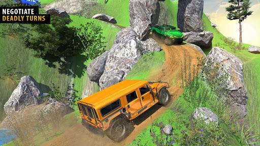 Offroad Jeep Driving Simulator - Jeep Simulator screenshot 8