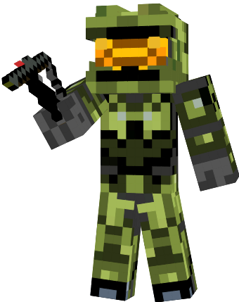 Master Chief Minecraft Skin Xbox