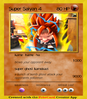 Screenshot of PokeCard Creator