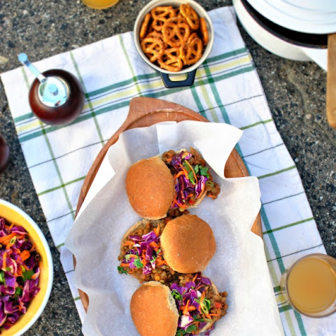 Lentil Sloppy Joe Sliders