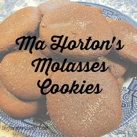 Ma Horton's Molasses Cookies