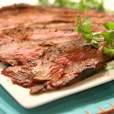 Grilled Teriyaki Flank Steak