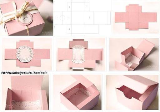 Подарок своими руками для подруги из бумаги