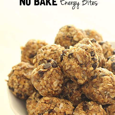 No Bake Cookie Energy Bites