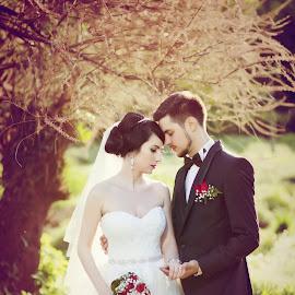 lovely by George Ungureanu - Wedding Bride & Groom