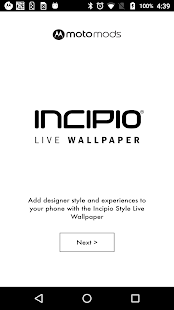 Incipio Style Live Wallpaper - screenshot