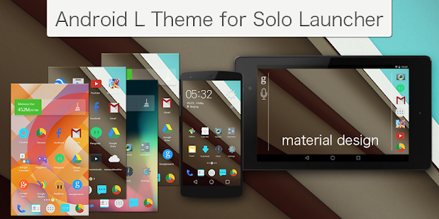 L Android Solo Theme - screenshot
