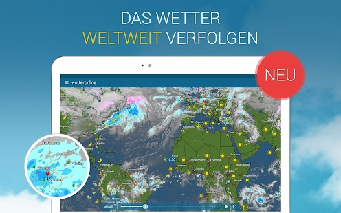 WetterOnline Screenshot