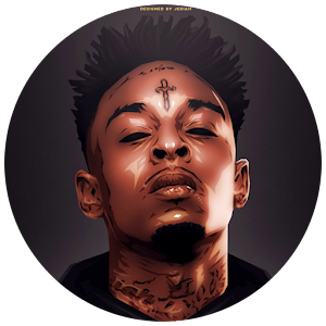 21 Savage Rapper Wallpaper HD