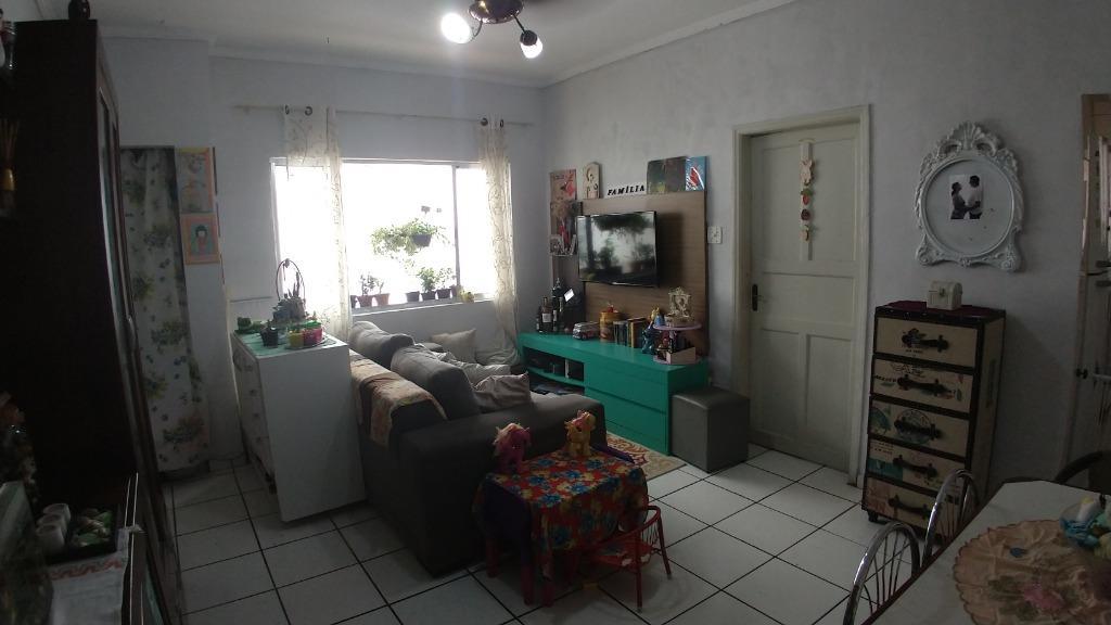 Apartamento com 1 dormitório à venda, 42 m² por R$ 170.000 - Centro - São Vicente/SP