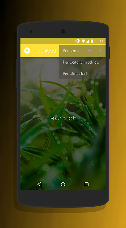 Transparent Gold - CM13 Theme Screenshot 6