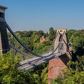 Clifton Suspension Bridge by James Booth - Buildings & Architecture Bridges & Suspended Structures ( bridge, bridges, bristol )