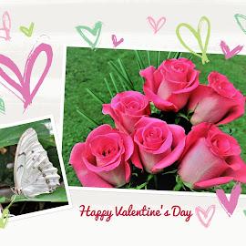 Happy Valentine's day by Mary Gallo - Public Holidays Valentines Day ( holiday, happy valentine day )