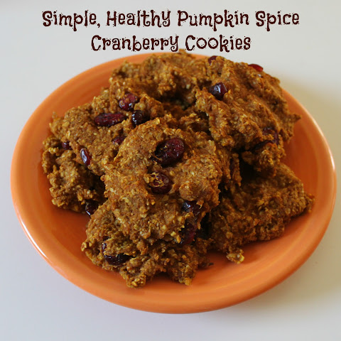 Pumpkin Spice Cranberry Cookie