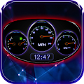 Car Dashboard Live Wallpaper