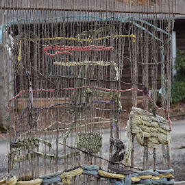 by Lisa Frisby - Novices Only Objects & Still Life ( deterioraing, folk school, rustic, loom, north carolina, crafts, weaving,  )
