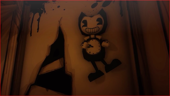 bendy and adventure ink machine