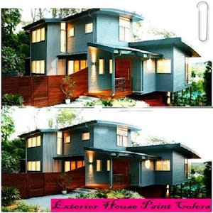 exterior house paint colors android apps on google play. Black Bedroom Furniture Sets. Home Design Ideas
