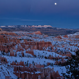 Evening light over Bryce Canyon by Brent Morris - Landscapes Travel