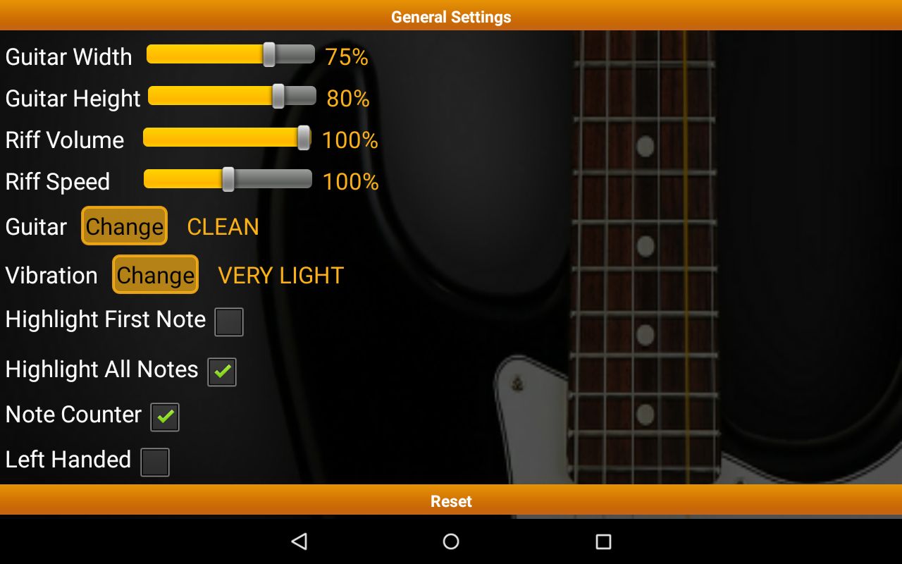 Guitar Riff Pro Screenshot 10
