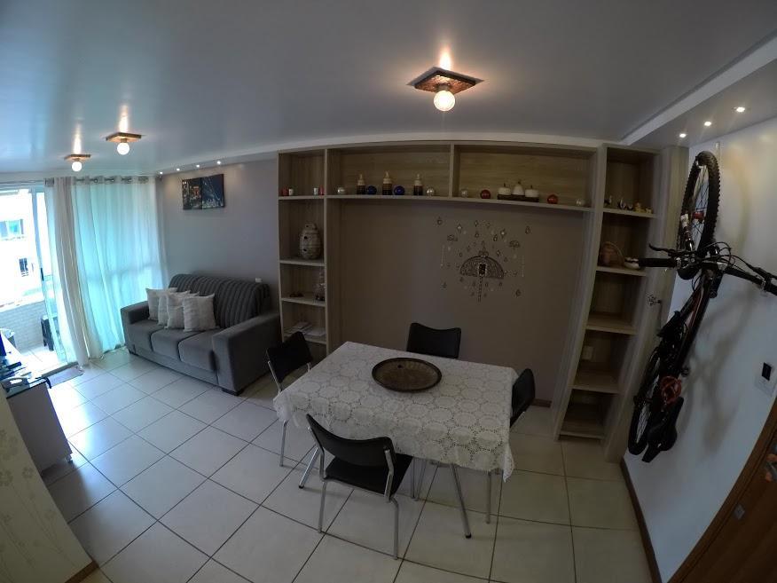Apartamento com 1 dormitório à venda, 45 m² por R$ 250.000 - Manaíra - João Pessoa/PB