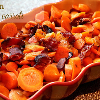 Bacon Glazed Carrots