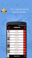 Screenshot of AndroTurk Radyo - Tüm Radyolar