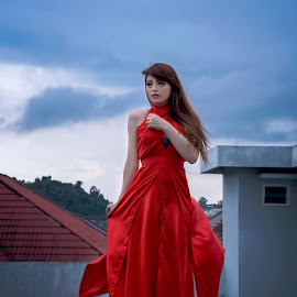 I'm Waiting For You by Agus Setyawan - People Fashion (  )