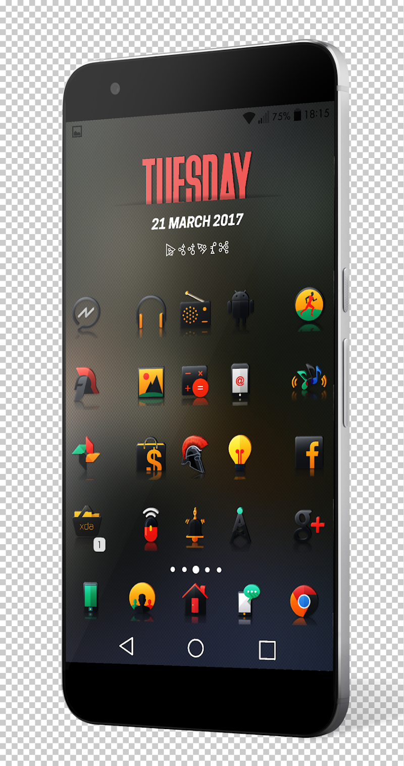 Darko 2 - Icon Pack Screenshot 5