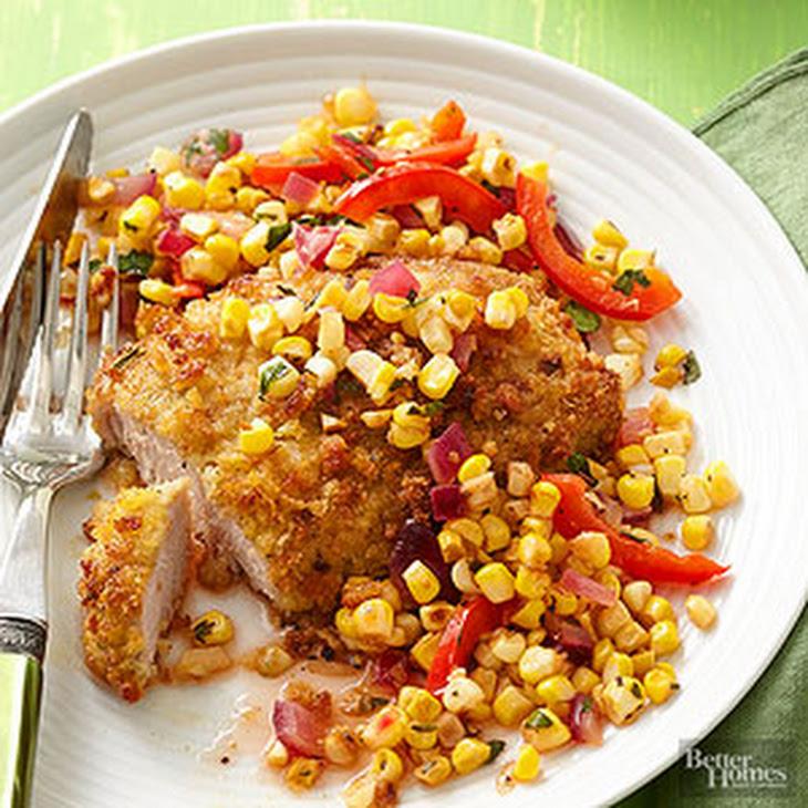 Oven-Fried Pork Chops Recipe | Yummly