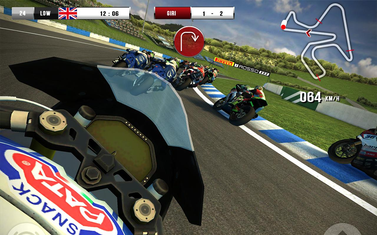 SBK16 Official Mobile Game Screenshot 1