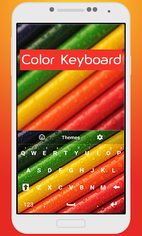 android Color Keyboard For Kids Screenshot 0