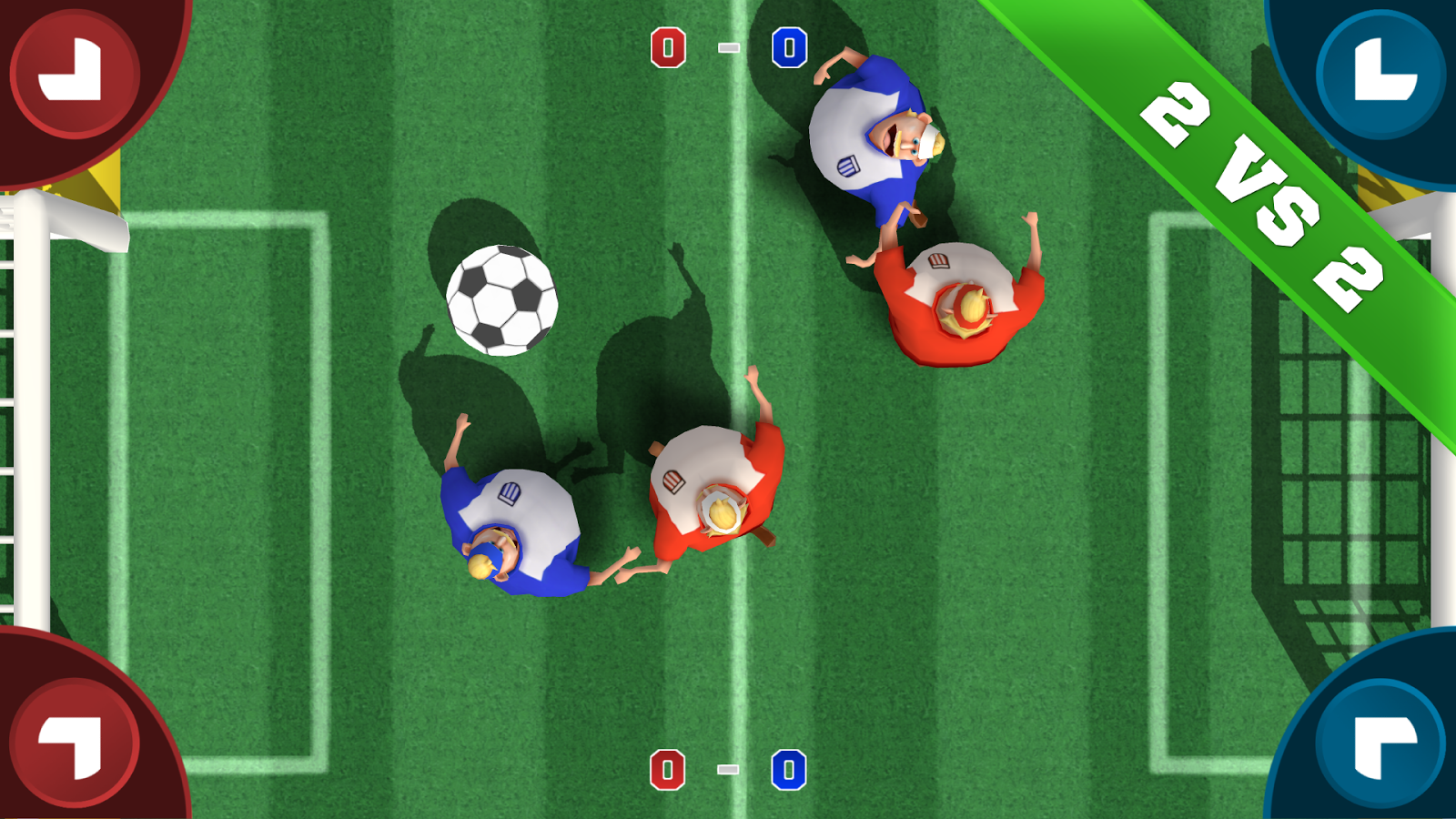 Soccer Sumos - Party game! Screenshot 2