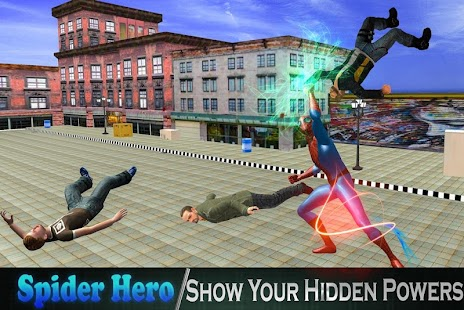 Super Spider City Battle