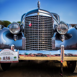 Cadillac v16 by Nikhil Mace - Transportation Automobiles ( rally, car, old, transport, vintage )