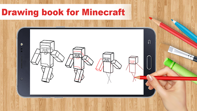 Learn To Draw Minecraft By Aston Developer APK screenshot thumbnail 3