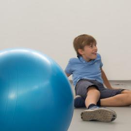 ball by Dušan Gajšek - Babies & Children Children Candids ( _mesta, luka, baab, maribor, šport )