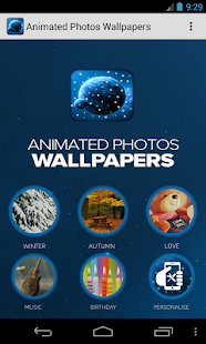 Animated Photos Wallpapers - screenshot