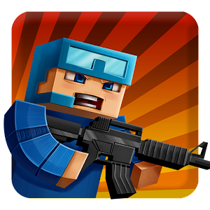 Cover art Pixel Combats: guns and blocks