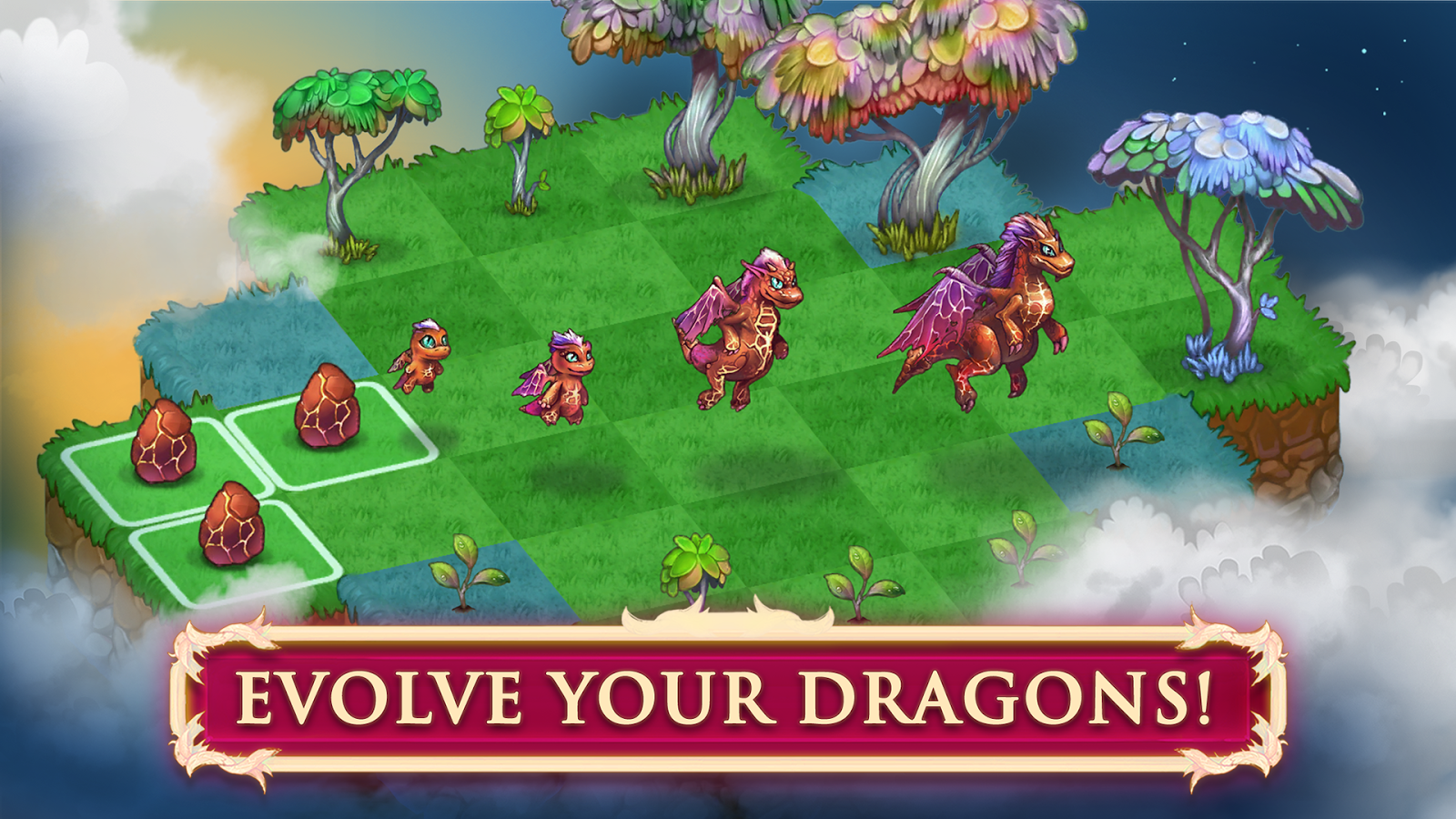 Merge Dragons! Screenshot 1