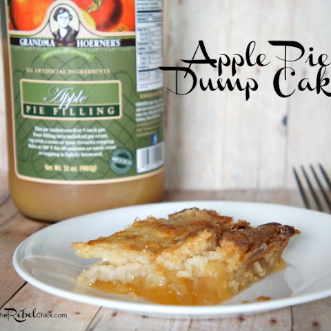 Simple Apple Pie Dump Cake