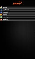 Screenshot of My Account-DishTV