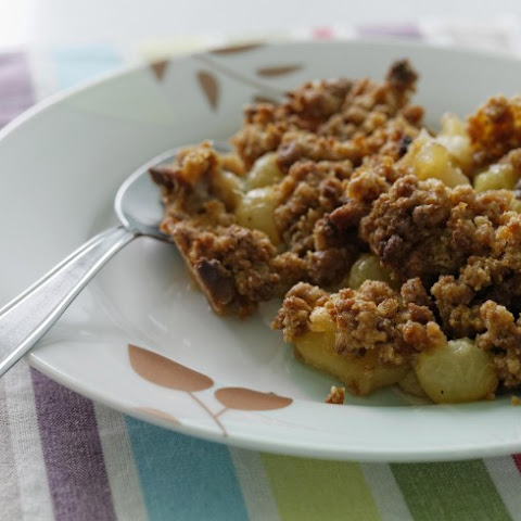 Warm Granny Apple Crumble