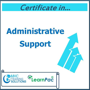 Certificate in Administrative Support  – E-Learning Course