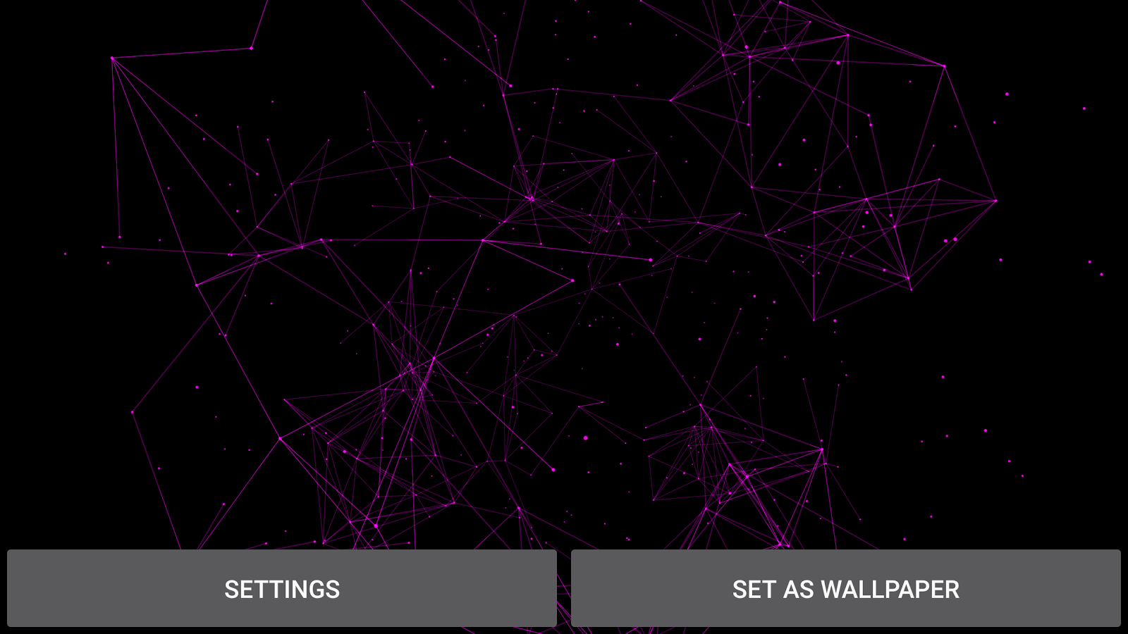 Particle Plexus Live Wallpaper Screenshot 18