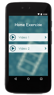 Home Exercise Guide - screenshot
