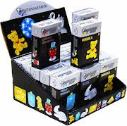 3D Crystal Puzzle Серия 2 Панда Светильник, Шоу-Бокс 2/18 шт.
