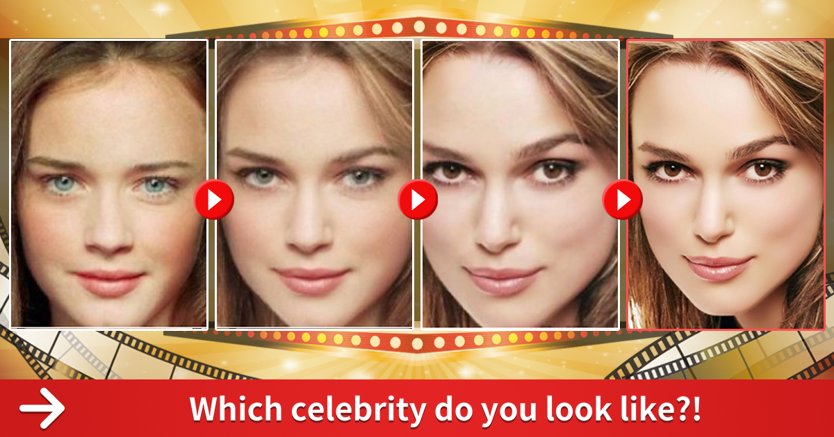 Which Female Celebrity Do You Look Like? - ProProfs Quiz