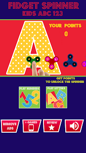 Fidget Spinner Kids ABC 123 Screenshot